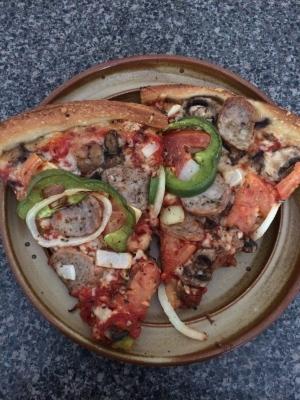 Shish-Kebob pizza