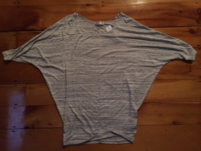Malcolm Dolman Sleeve Stub Knit Shirt