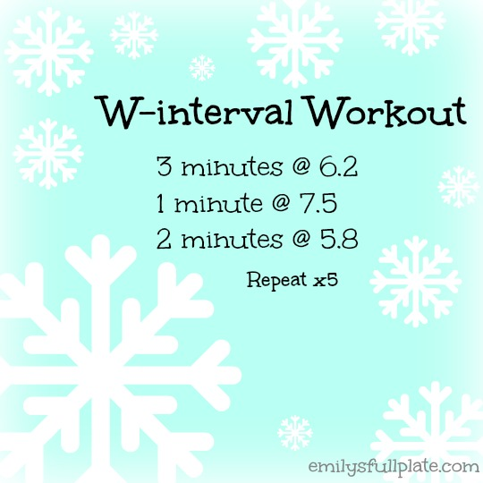 W-interval Workout