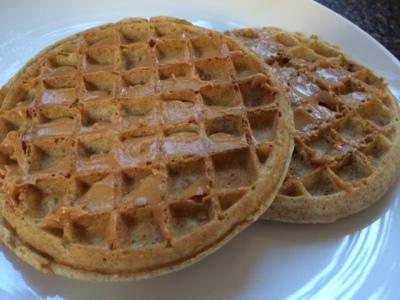 2 waffles