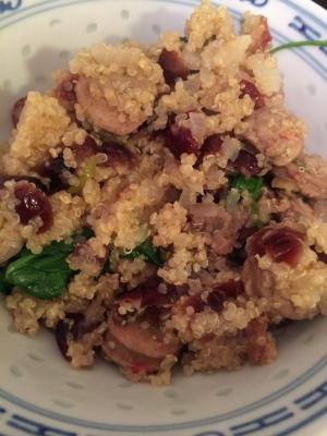 Sausage Quinoa dinner