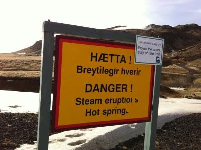 danger hot springs!