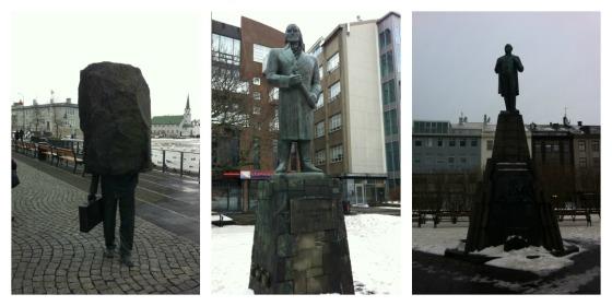 statues in reykjavik