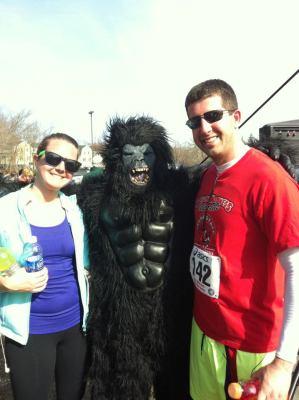 chase the gorilla 2012