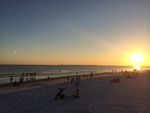 fort meyers beach sunset