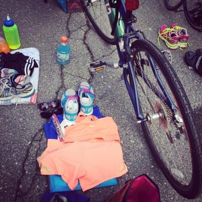 triathlon set up