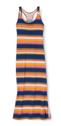 Mossimo Supply Co. Junior's Racerback Maxi Dress