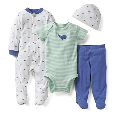whale baby clothes