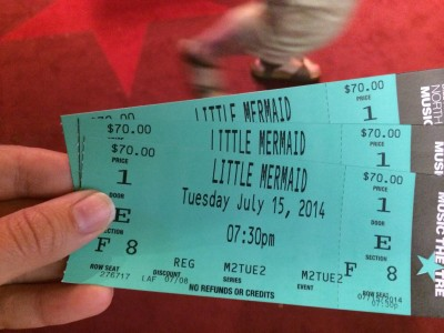 Little Mermaid Tickets