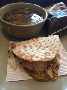 Panera Thai Chicken Flatbread