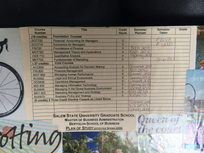 MBA Schedule