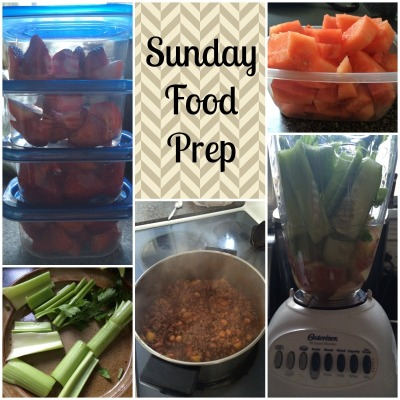 Sunday Food Prep