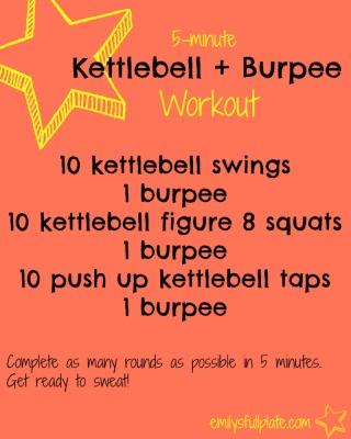 Kettlebell Burpee Workout