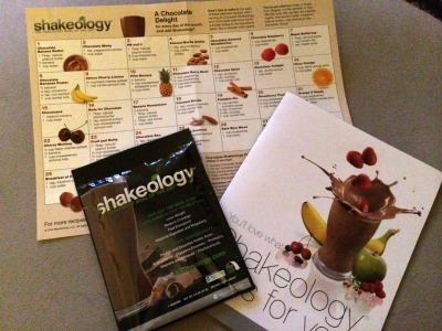 Shakeology package
