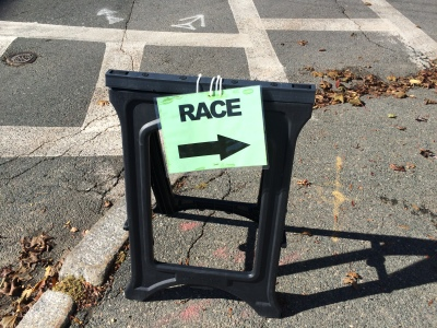race volunteering