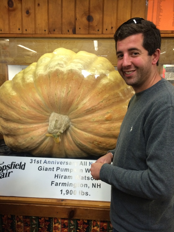 biggest pumpkin