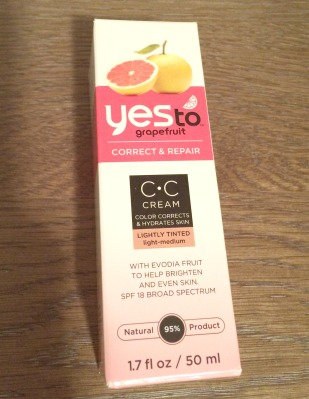 yes to grapefruit cc cream