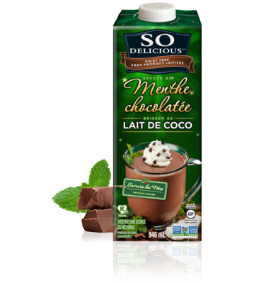 mint chocolate coconut milk