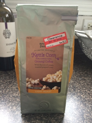 kettle corn coffee