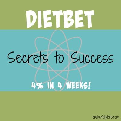 Dietbet Secrets to success