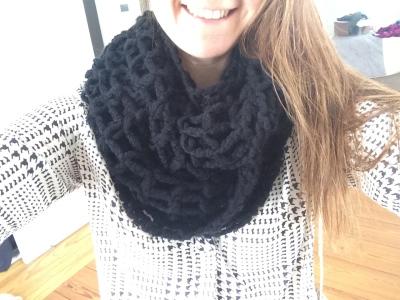 Sutro Chunky Knit Infinity Scarf