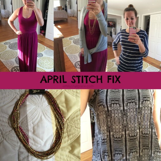 April Stitch Fix