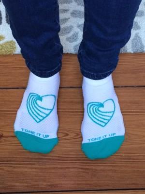 tone it up socks